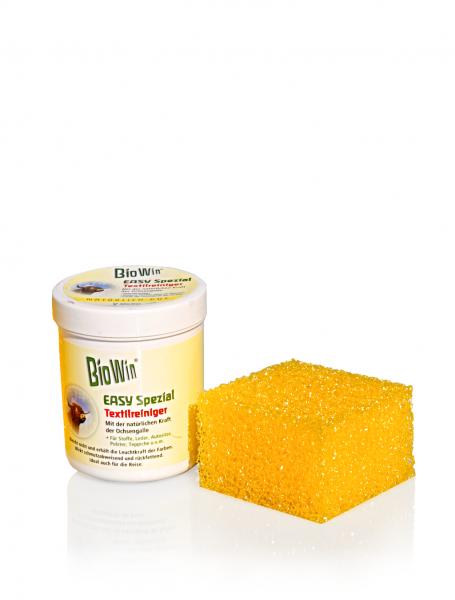 BioWin EASY Spezial – Teppich-, Polster- und Textilreiniger + ein Schwamm